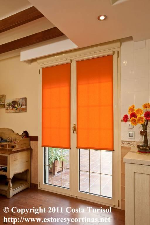 Cortinas verticales estores enrollables puertas - Cortinas estores enrollables ...